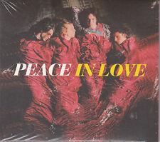 CD DIGIPACK 14 TITRES PEACE IN LOVE DE 2013 NEUF SCELLE