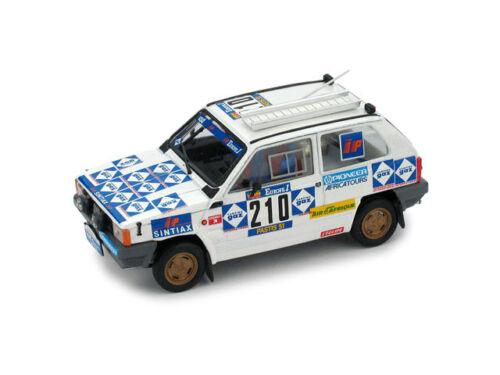 Fiat Panda 4x4 Parigi Dakar #210 1:43 2008-1 R442B BRUMM 1984