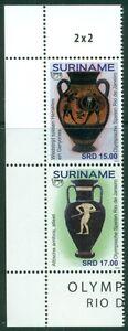 SURINAME-UITGAVE-2016-SERIE-OLYMPISCHE-SPELEN-RIO-2016