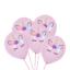 15-pcs-Licorne-tete-feuille-Latex-Ballons-Rose-Violet-gt-Baby-Shower-Fete-D-039-Anniversaire miniature 8