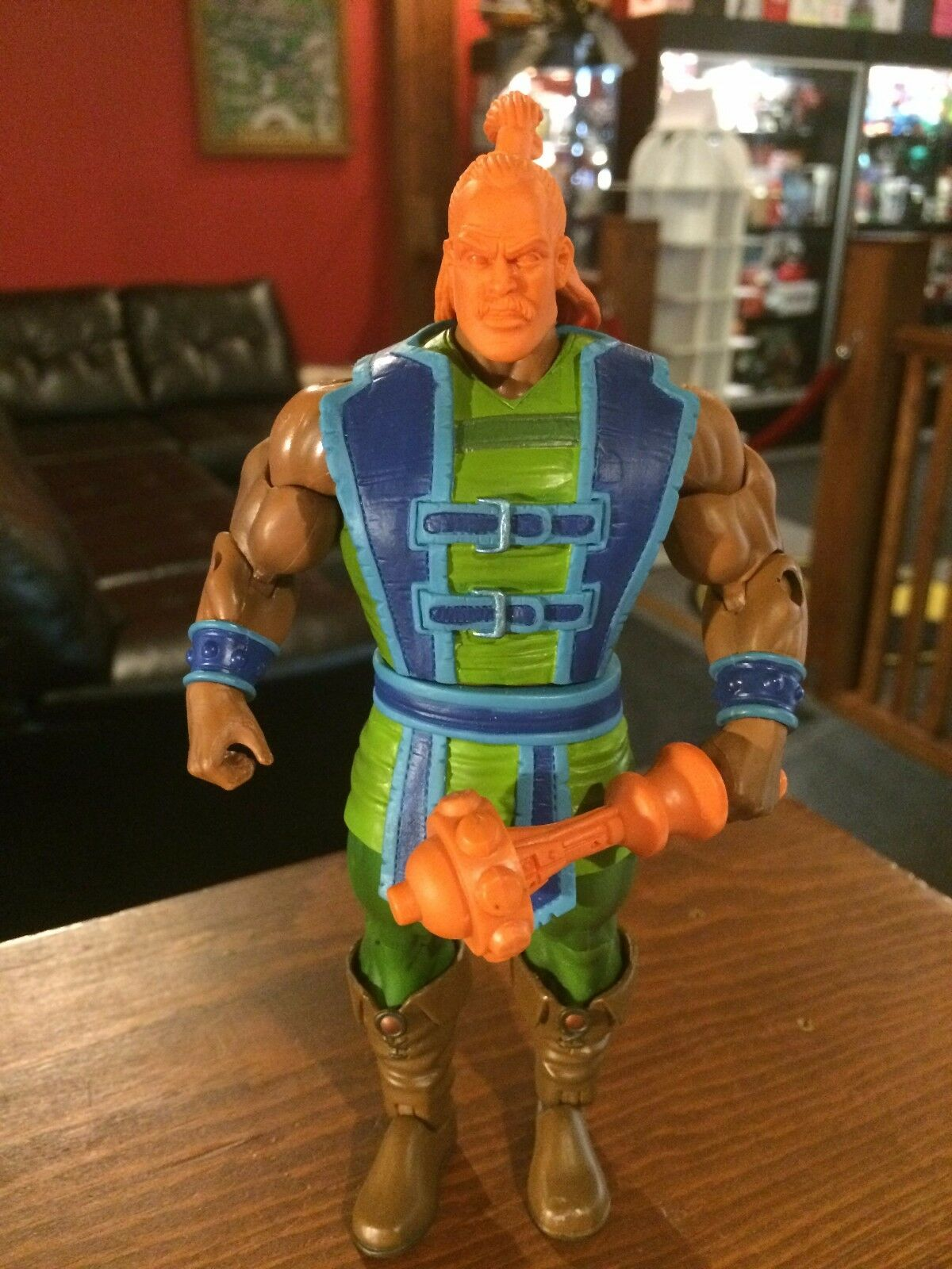 Prossootype Test Shot Figure Masters of the Universe Universe Universe MOTUC DEKKER  X128 0c6856