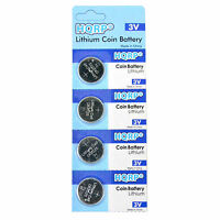 4-pack Hqrp Lithium Battery For Polar Ft40 Ft40m Heart Rate Monitor Ft-40 Ft-40m