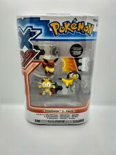 Espeon /& Umbreon 2-Inch Mini Figure 3-Pack Pokemon Eevee
