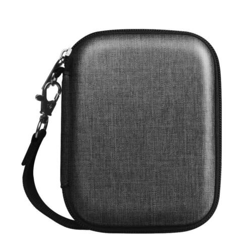 Leather EVA Carring Case for Seagate Backup Plus Slim WD My Passport Hard Drive