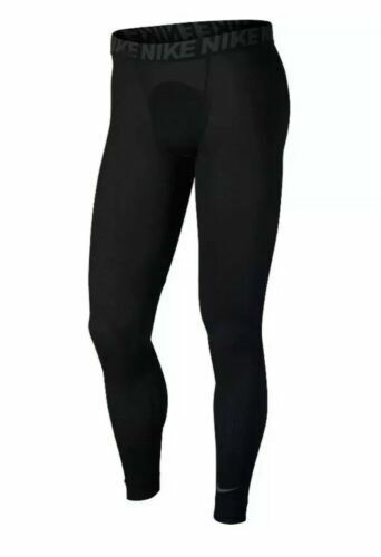 Nike Men/'s Size XL Training Utility Compression Tights AA1585 010 Black NWT