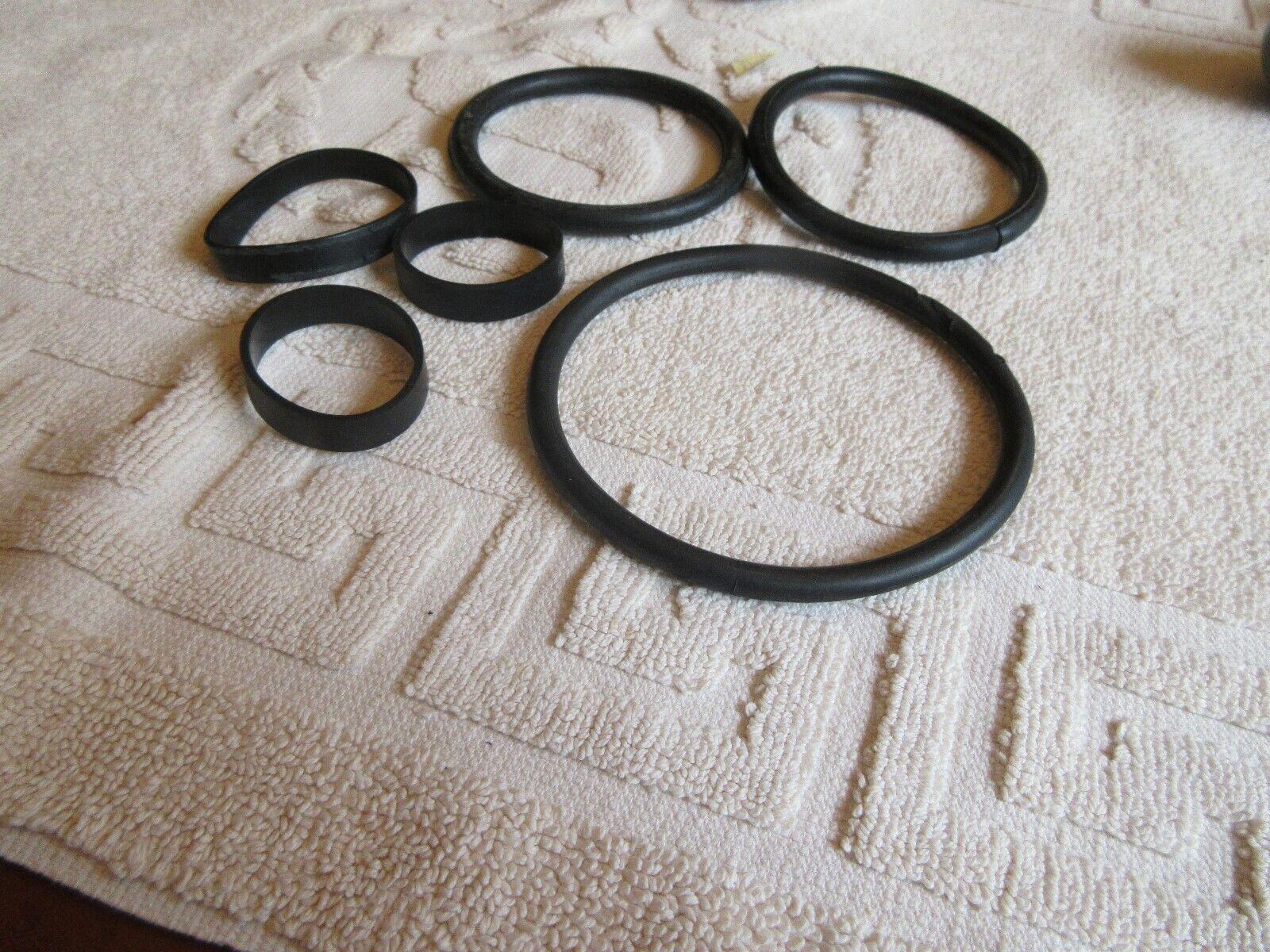 Hoover , Eureka , Vacuum Cleaner Fan Belts , Lot of 6 M