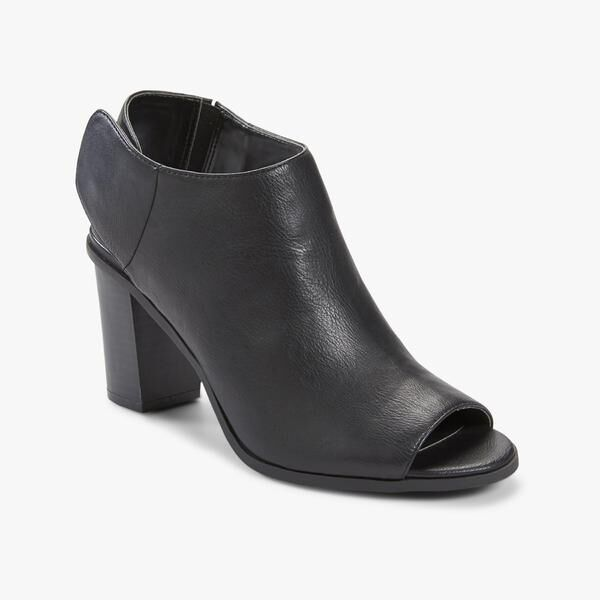 Route 66 Women's Anya Black Synthetic 7 Leather Ankle Boot Size 7 Synthetic or 9 Medium bd71e6