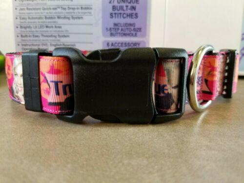 P!nk Alecia Moore Dog Collars 2 designs!