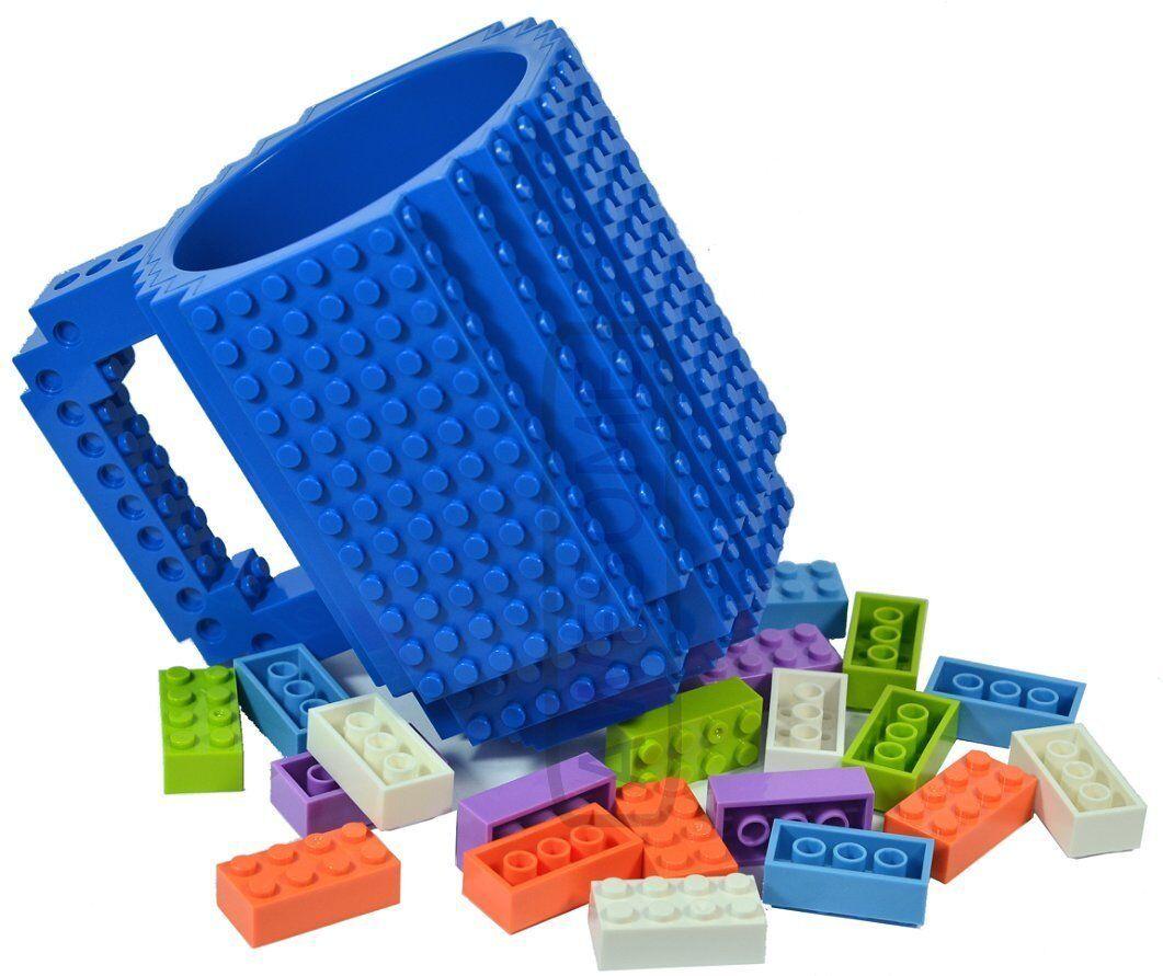 Building brick mug inc. inc. inc. 20 bricks - Blau 4a57c9
