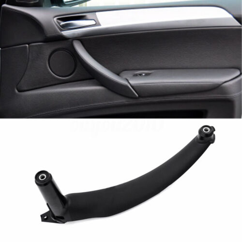 Black Right Inner Door Panel Handle Pull Trim Cover Fit BMW E70 X5 51416969402