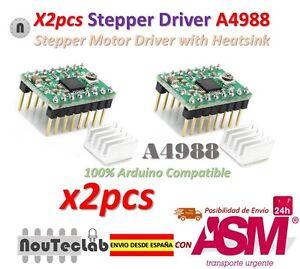 2pcs-Reprap-Stepper-Driver-A4988-Stepper-Motor-Driver-Module-with-Heatsink