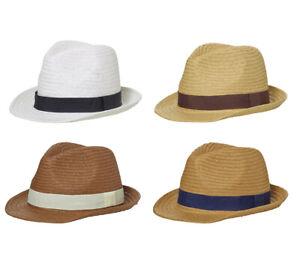 Sombrero-de-Verano-Panama-Gorra-Paja-Trilby-Jardin