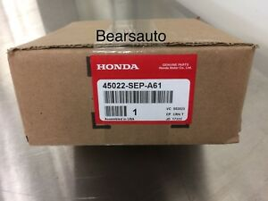 Genuine 2004-08 Acura TL Type S Front And Rear Brake Pads OEM NEW