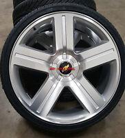 22 Chevy Texas Edition Style Rims 5 Lug Wheels 5x127 Tahoe Gmc Suburban Caprice