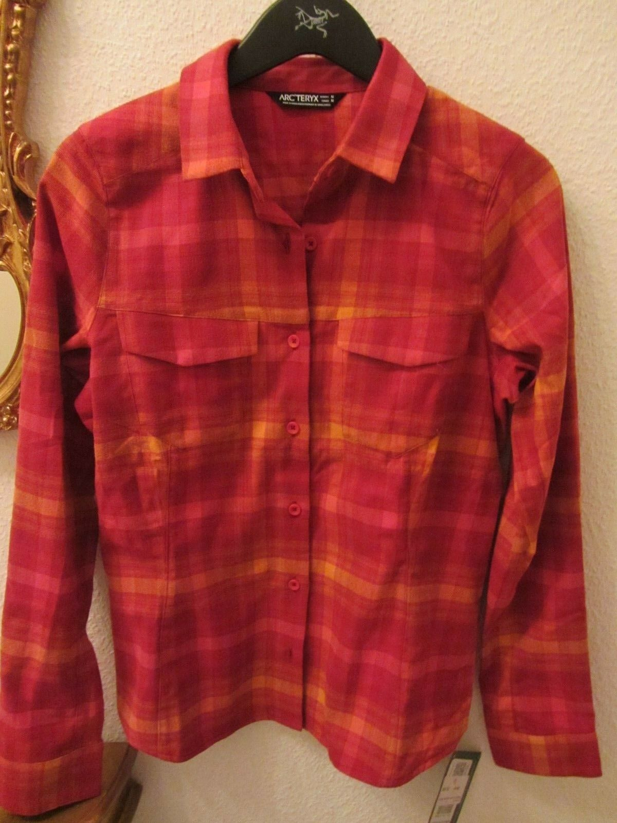 Arcteryx - Addison LS Shirt M 38 40   IDEAL + TOLLE FARBE    3350