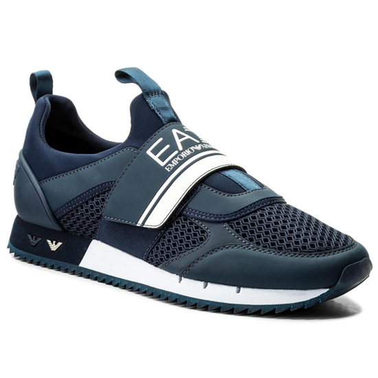 EA7 EMPORIO ARMANI SNEAKERS TRAINING Navy uk-9
