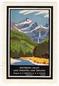 I-B-New-Zealand-Cinderella-Queenstown-Tourist-Office-Routeburn-Valley