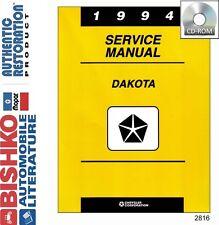 1994 Dodge Dakota Truck Shop Service Repair Manual CD Engine Drivetrain Wiring