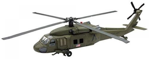 Sky Pilot UH-60 Black Hawk Diecast Helicopter Replica 1:60 Scale