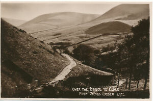 PC15568 Over the Bridge to Edale from Jacobs Ladder. No 4355. RP