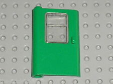 Porte + vitre LEGO TRAIN Green door 4181 + glass 4183 / set 7898 & 4552