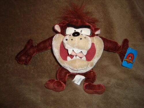 Taz Looney Tunes Tazmanian Devil Plush Ganz 8 w/tags