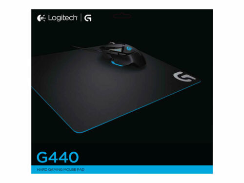 Logitech 943-000098 G440 Hard Gaming Mouse Pad for High DPI Gaming