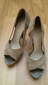 super popular 5d0b7 e9257 Details zu Edc by Esprit Sommer Damen Schuhe Pumps Peeptoe High Heels Gr 39  wie NEU