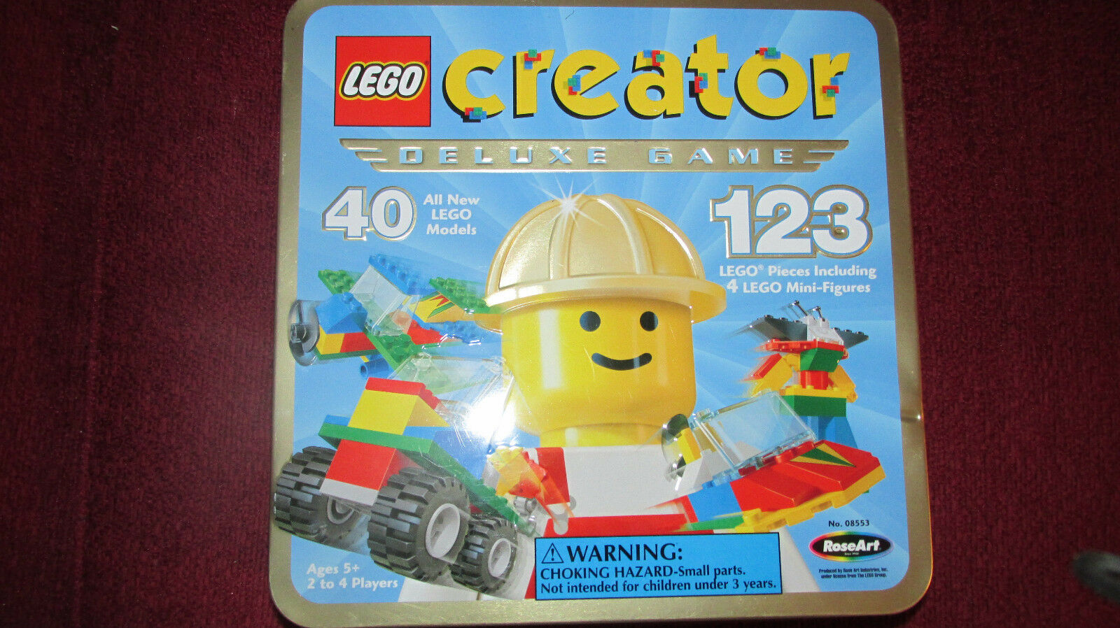Lego Creator DELUXE The Race to Build it Board game VINTAGE RARE Educational