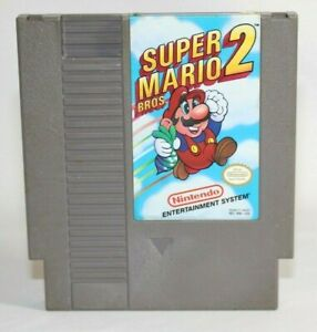 Super Mario Bros 2 NES Nintendo Authentic & Tested! Works Great!