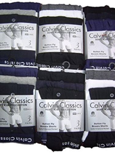 NEW ClassicS 3PAIRS Assorted Men Boxer Short Pant FATHER`S DAY Ideal Gift XL