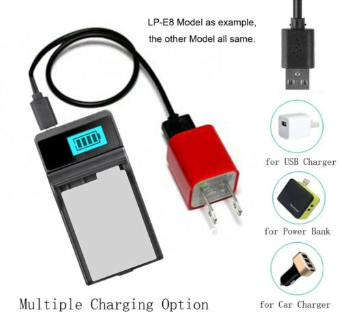 Cargador de Batería para JVC Everio GZ-EX310AU GZ-EX310BU GZ-EX310WU Videocámara
