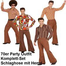 70er Jahre Disco Anzug S (48) Herren Kostüm Schlager Dancing