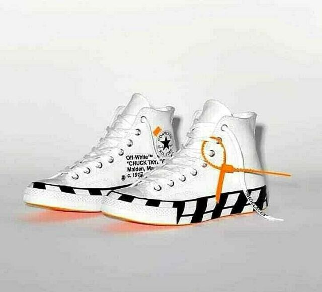 Chuck Taylor All-Star 70s Hi Off-White US4.5 (EUR37) - US7 (EUR40)