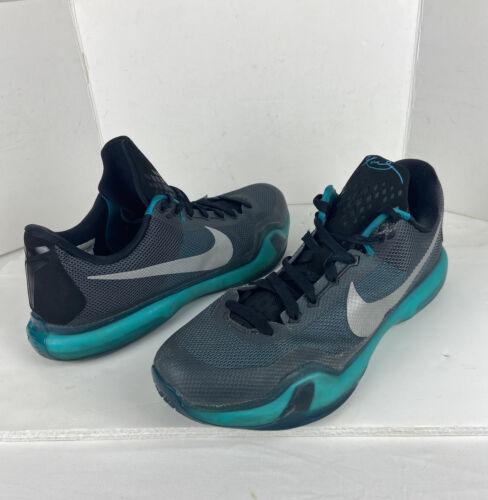 Nike Kobe X 10 Radiant Emerald Black Silver LIBERT