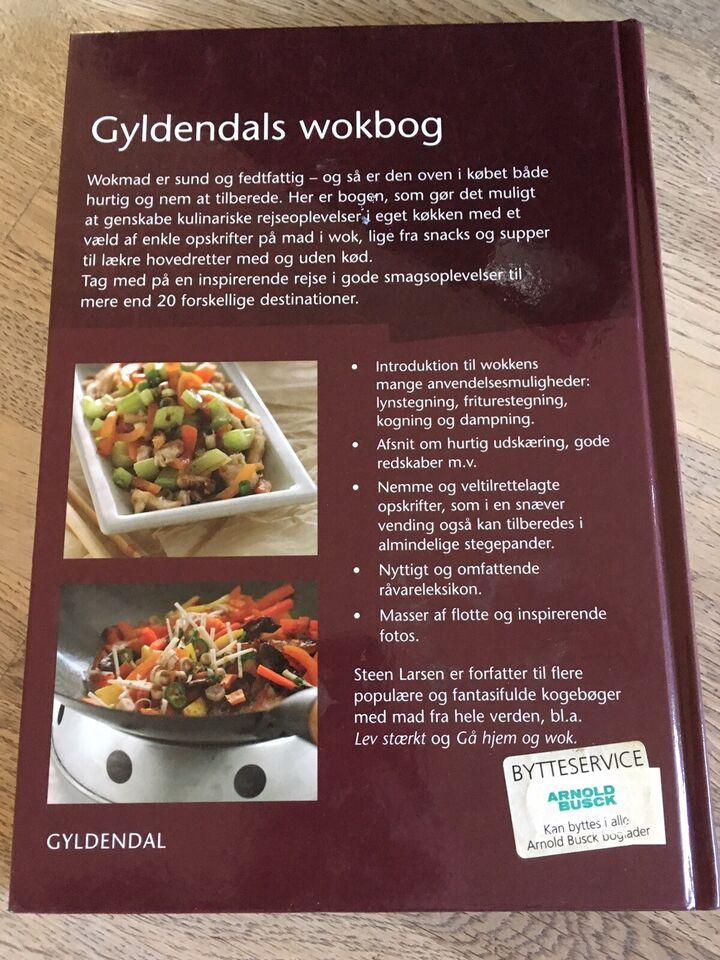 Gyldendals wokbog, Steen Larsen, emne: mad og vin