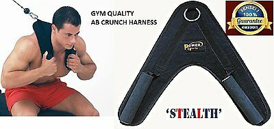AB CRUNCH Harness Power Sports Ab's Super-Heavy Duty Cable Machine Attach