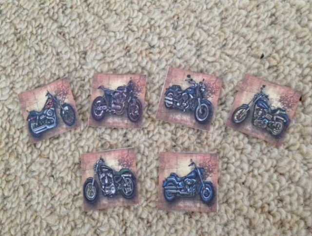 40 Harley Davidson Motorbike Mens Table Confetti Birthday/wedding ...