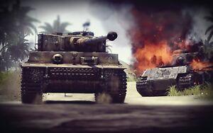 WW2 German Panzer T-VI German Tiger Tank Picture