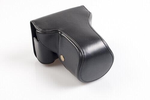 gf5 Cámara-bolsa poliuretano negro para Panasonic Lumix dmc-gf3
