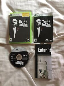 The Godfather: The Game (Xbox 360, 2006) CIB With Map & Manual Complete & TESTED