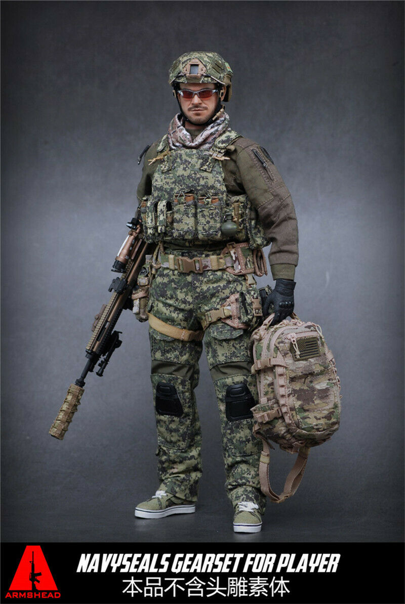 ARMSHEAD ES AES001 AOR2 1 6 actionfigure'sclothes Seal player suppleSiet kit