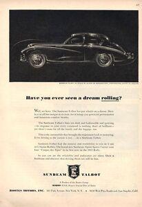 1953-ROOTES-Motors-Sunbeam-Talbot-90-Sedan-4-Door-PRINT-AD