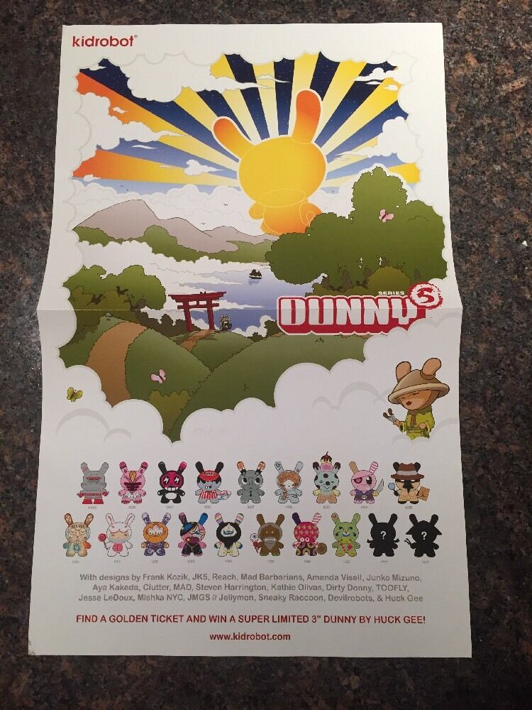 Dunny Series 5 Poster By Kidrobot