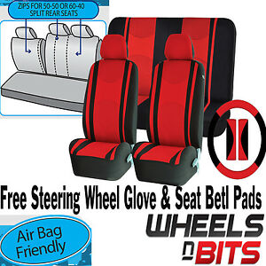 Miraculous Details About Red Mesh Cloth Car Seat Cover Steering Glove Fit Rover Mg Zr Zt Zs Mg3 Mgs Machost Co Dining Chair Design Ideas Machostcouk