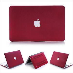 2015 Marsala Wine Red Matte Hard Case For Apple Macbook