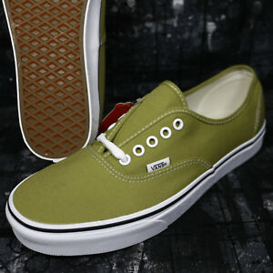 d3ae2ea05d Vans Authentic Canvas Cress Green True White Men s Skate Shoes ...