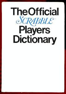 Details about The Official Scrabble Players Dictionary by Selchow & Righter  Company