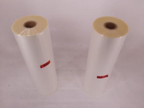 """2-Pack GBC Standard Roll Film 1.5 Mil 12/""""x500/' Thermal Lamination 3000002"""