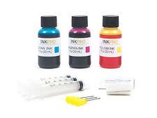 InkPro Premium Tri-Color Ink Refill Kit for HP 61 1oz